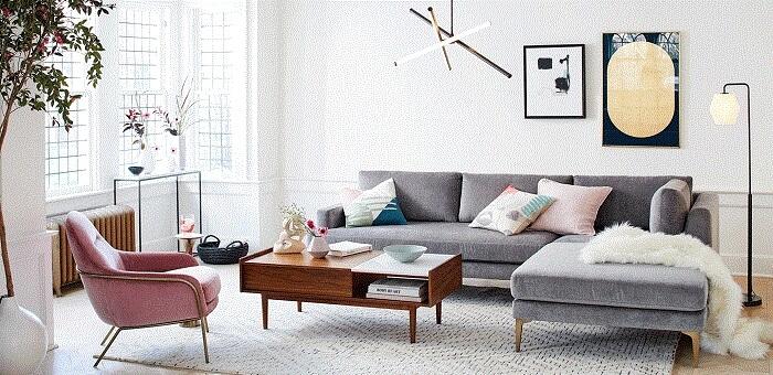 Chic Grey Living Room With Clean Lines: 31 Mẫu Trang Trí Nhà đẹp Mỹ Mãn Giá Thi Công Hấp Dẫn Nhất 2019