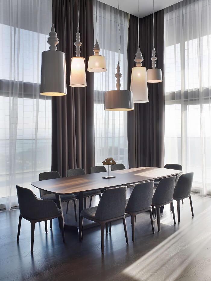 Mẫu 19 - Bộ bàn 10 ghế ăn đẹp