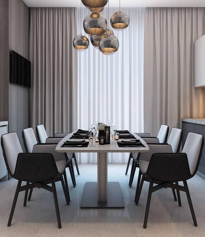Mẫu 2 - Bộ bàn ăn 6 ghế gỗ sồi