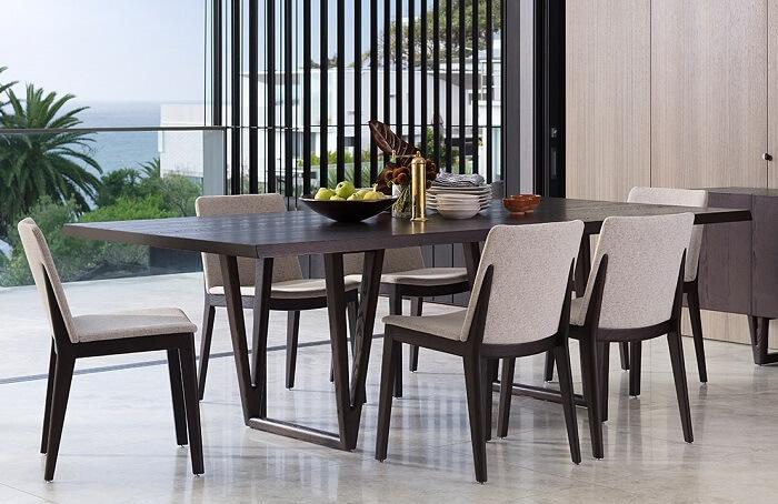 Mẫu 39 -  Bộ bàn ăn gỗ sồi