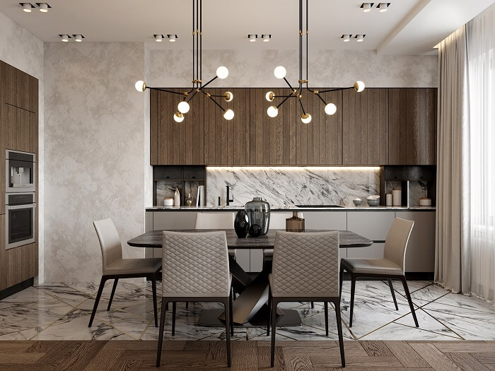 Mẫu 42 - Bộ bàn ghế ăn đẹp hiện đại