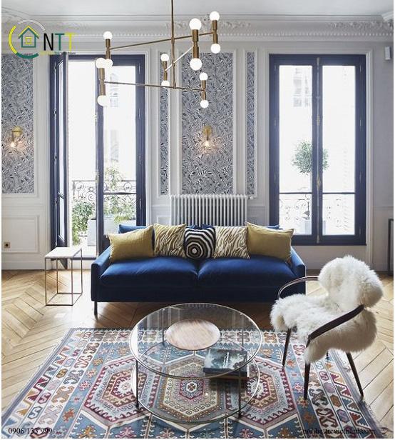 Mẫu 71 - Sofa bọc vải đẹp