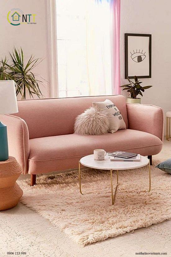 Mẫu 72 - Sofa bọc vải đẹp 