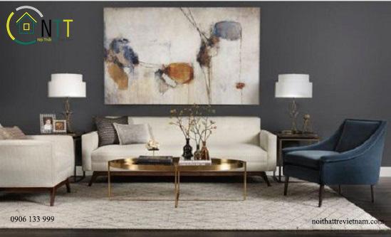 Mẫu 74 - Sofa bọc vải đẹp