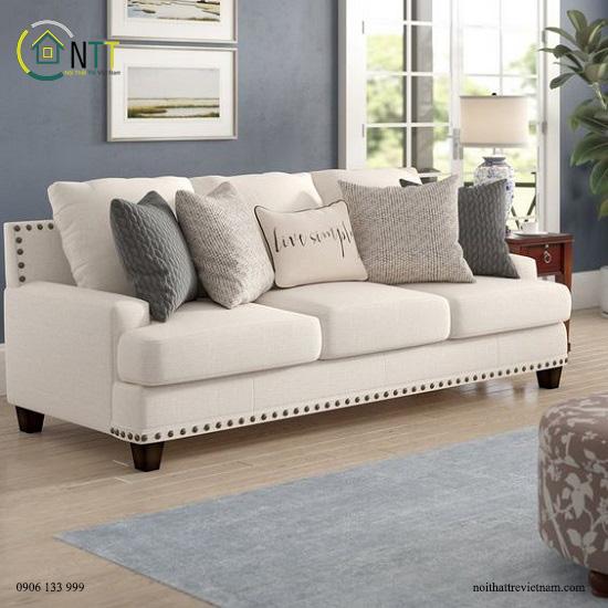 Mẫu 76 - Sofa bọc vải đẹp