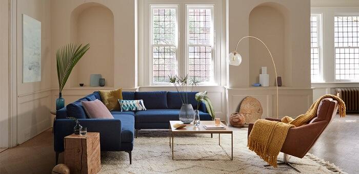 Mẫu 5 -  Mẫu trang trí phòng khách đẹp
