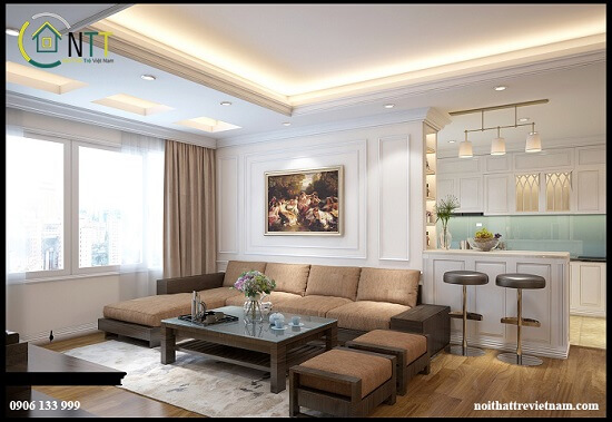 Mẫu 84 - Sofa góc cao cấp