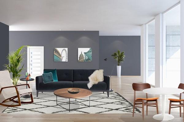 Mẫu 7 - Cách trang trí phòng khách nhà cấp 4