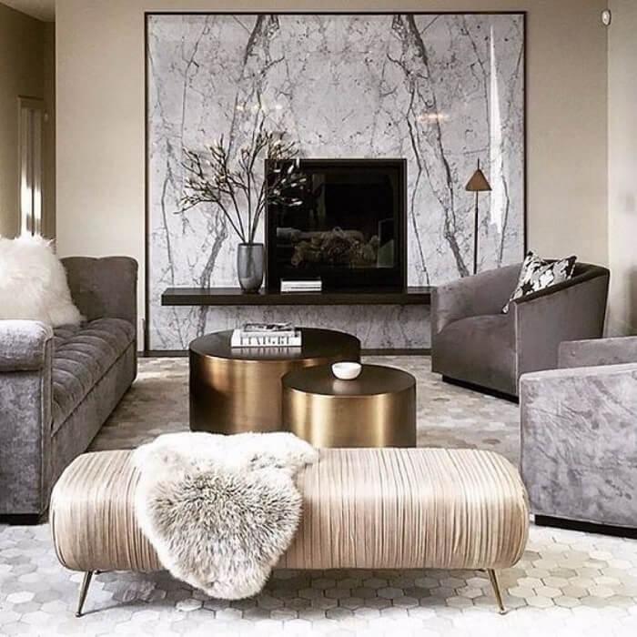 Mẫu 7 - Trang trí phòng khách