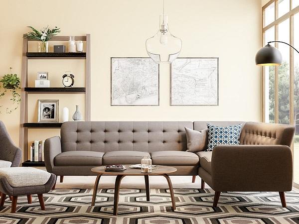 Mẫu 8 - Trang trí phòng khách nhà cấp 4 đẹp