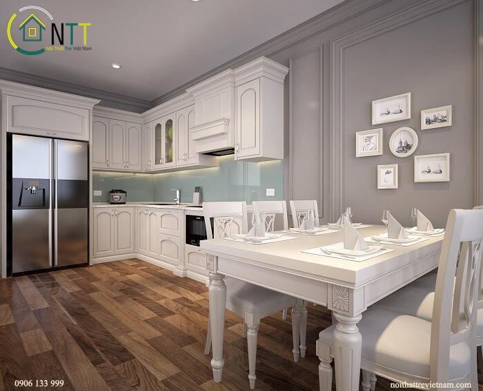 phòng ăn và bếp