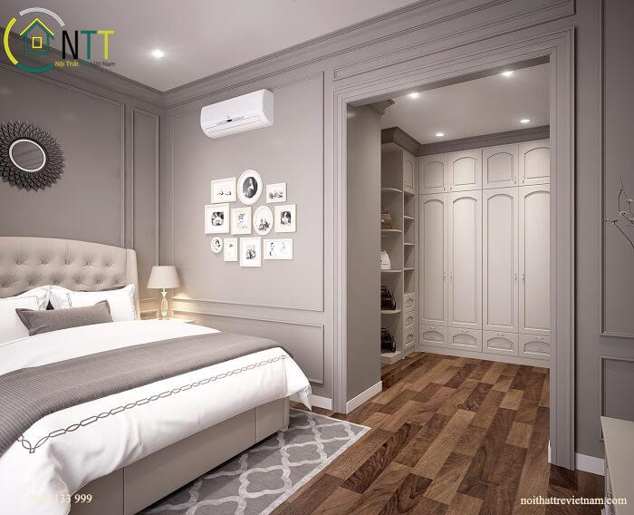 phòng ngủ chung cư times city