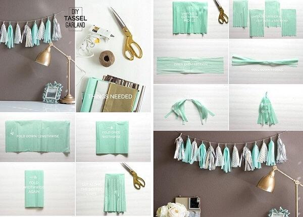 Cách làm đồ trang trí bằng giấy