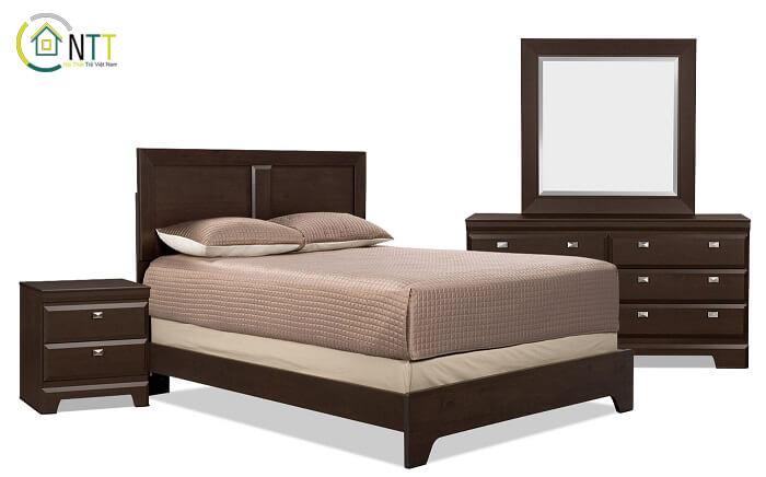 Mẫu 5 - Gộ giường ngủ phong cách hiện đại