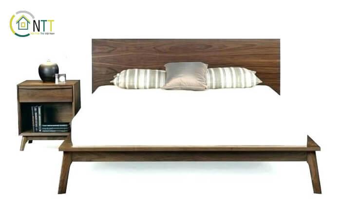 Mẫu 6 – Bộ giường ngủ đơn giản hiện đại mà đẹp