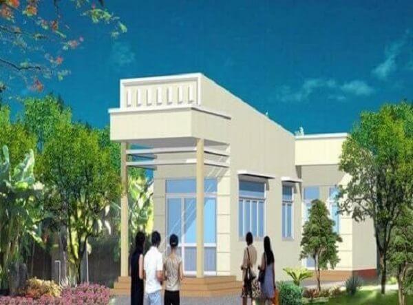 xây nhà cấp 4 100 triệu đồng