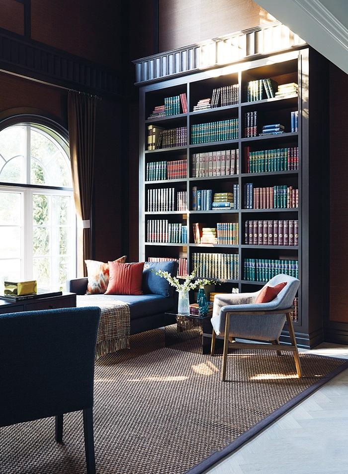 Mẫu 1 - Phòng đọc sách tại nhà