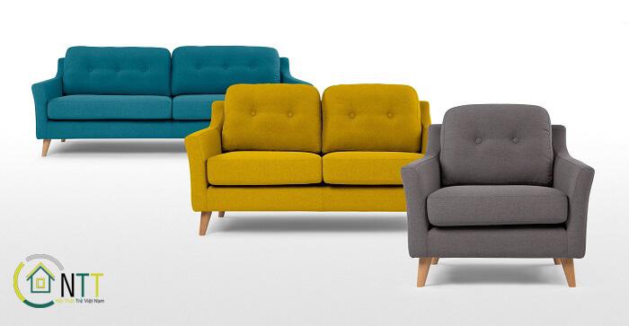 Mẫu 11 Sofa văng nỉ