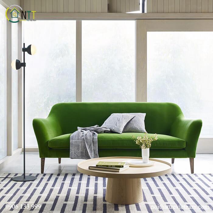 Mẫu 12 Sofa văng nỉ