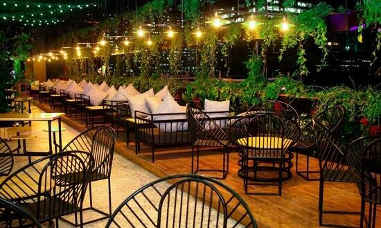 Ý tưởng 13  nhà hàng không gian xanh