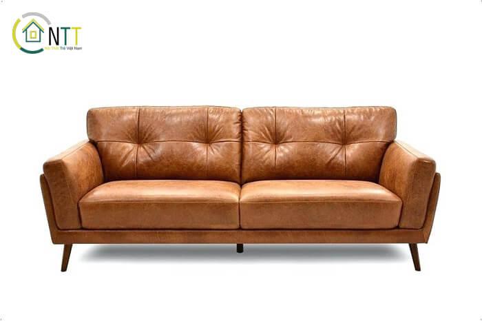 Mẫu 15 - Sofa văng da