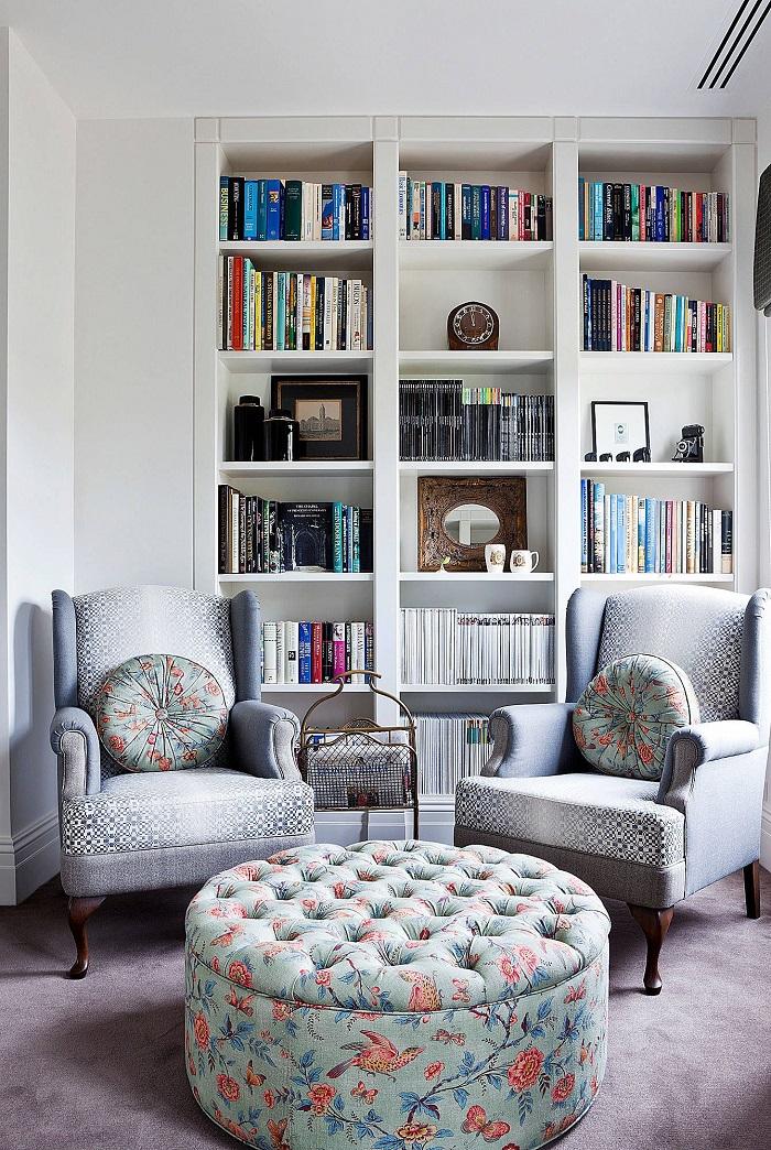 Mẫu 2 phòng đọc sách đẹp