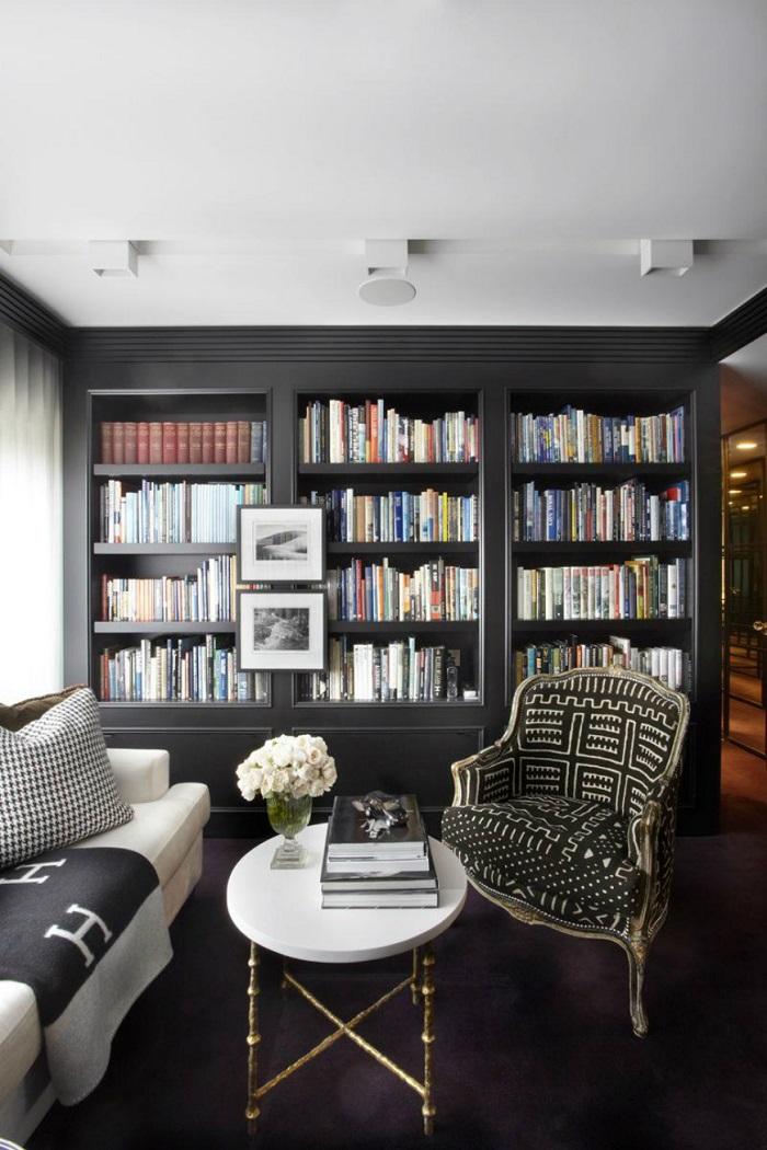 Mẫu 21 phòng đọc của gia đình