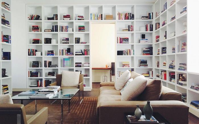 Mẫu 22 phòng đọc sách hiện đại