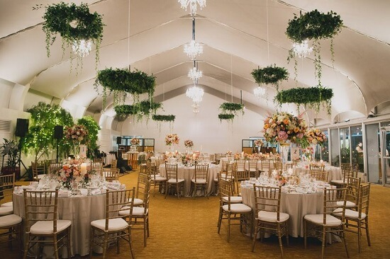 Ý tưởng 24 trang trí không gian nhà hàng tiệc cưới đẹp