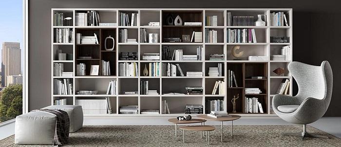 Mẫu 25 bố trí không gian đọc sách gia đình