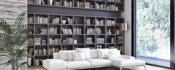 Mẫu 29 bố trí không gian phòng sách cho gia đình