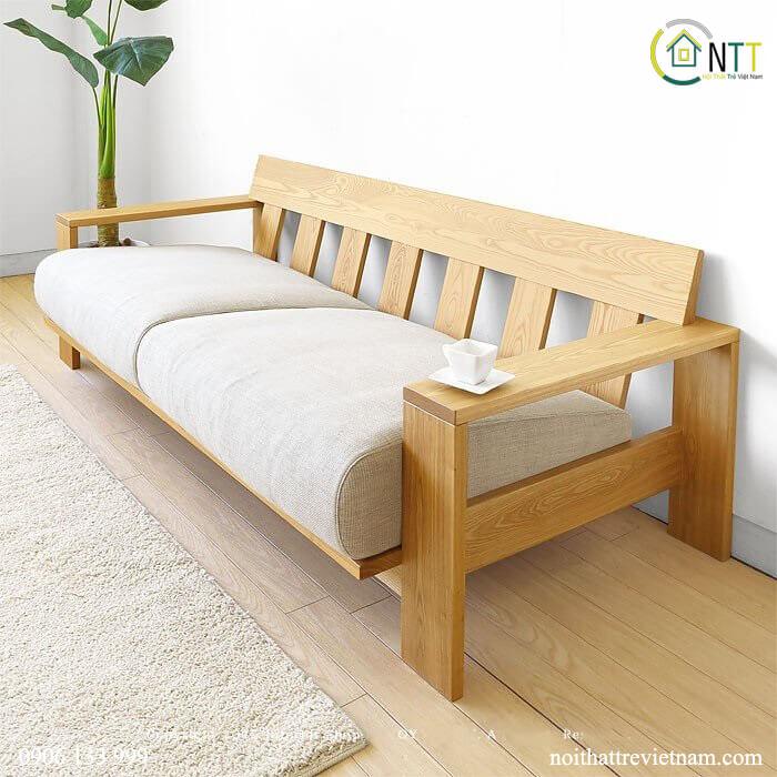 Mẫu 30 - Sofa văng gỗ