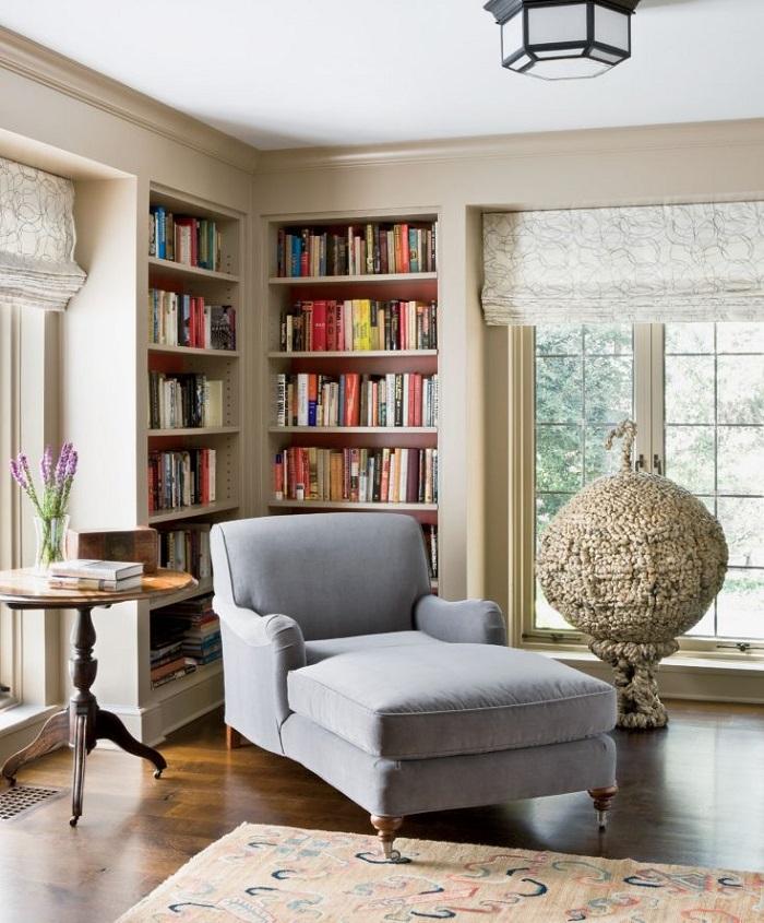 Mẫu 32 không gian phòng sách gia đình