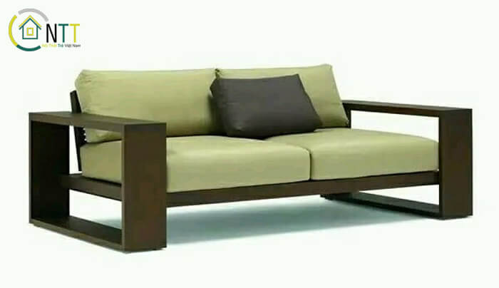 Mẫu 34 - Sofa văng gỗ hiện đại