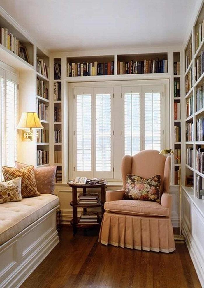 Mẫu 35 phòng đọc sách nhỏ