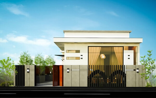 nhà đẹp chi phí 400 triệu