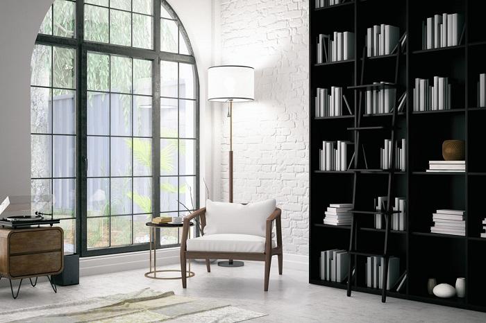 Mẫu phòng dành cho việc đọc sách số 5