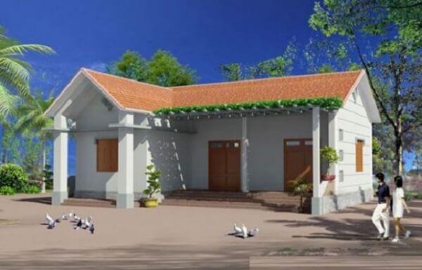 xây nhà 100 triệu đồng