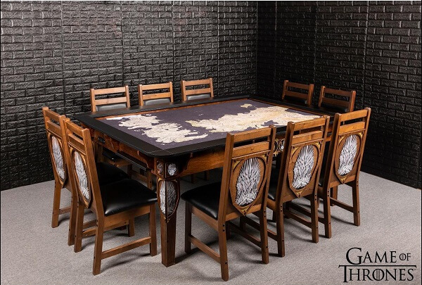 Phòng ăn Game of Thrones