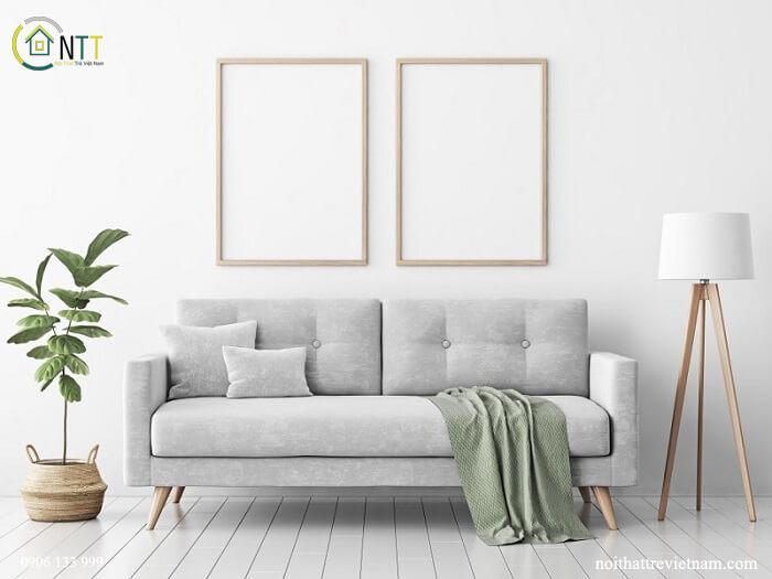 Mẫu 9 - Sofa văng nỉ