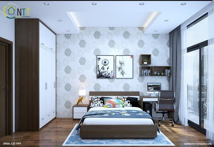 Mẫu giường dẹp 11 -  Giường ngủ hiện đại