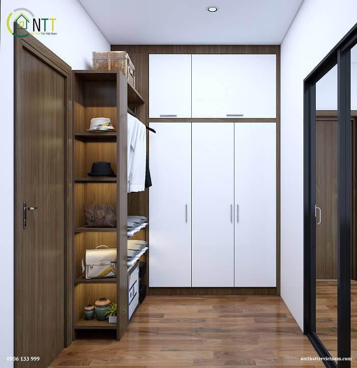Mẫu 12 - Những mẫu tủ quần áo hiện đại