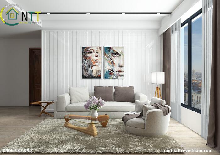 Mẫu 12 - Sofa văng nỉ