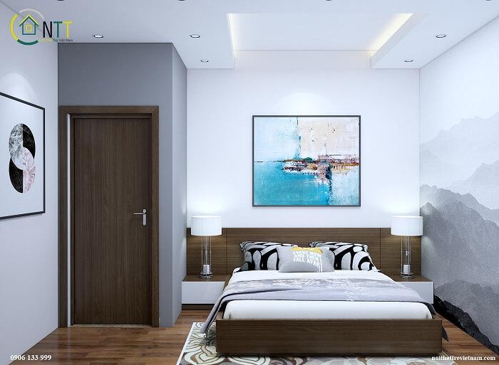 Giường ngủ gỗ công nghiệp Hà Nội