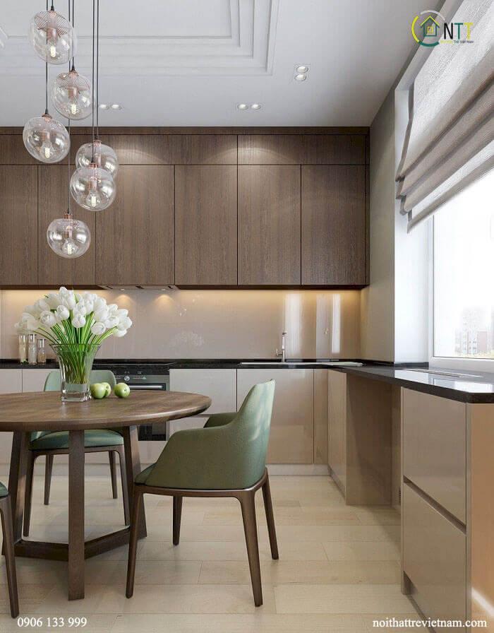 Mẫu 19 - Tủ bếp cao cấp hiện đại