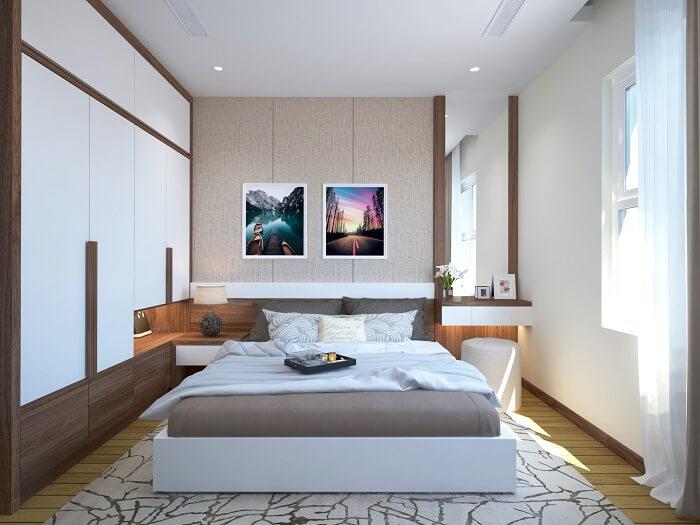 Giường gỗ công nghiệp mdf