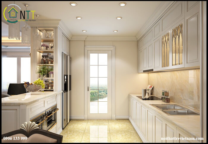 Tủ bếp mẫu 1 - view 2