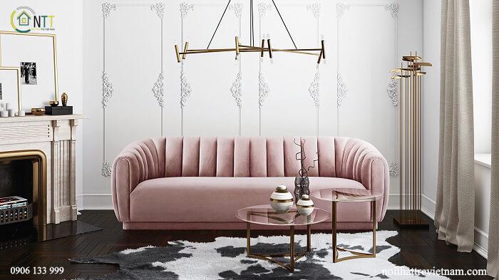 Mẫu 24 - Bộ sofa nỉ