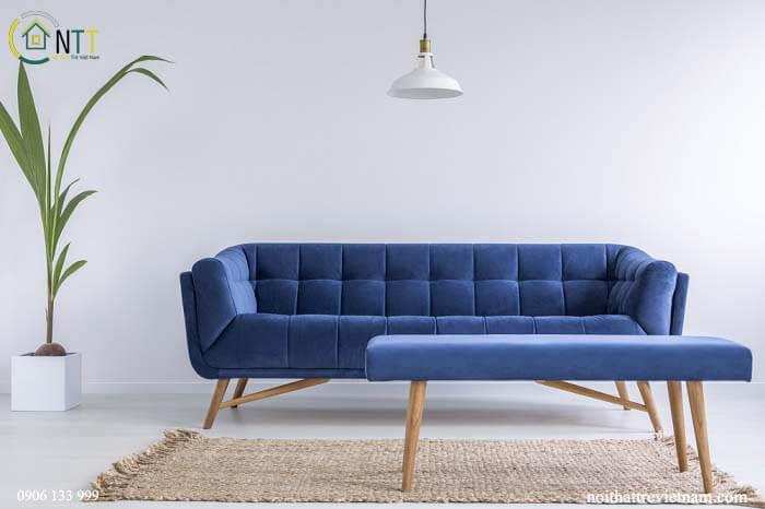 Mẫu 27 - sofa nỉ nhung
