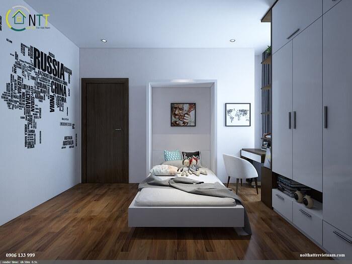 Giường gỗ gấp, giường ngủ thông minh